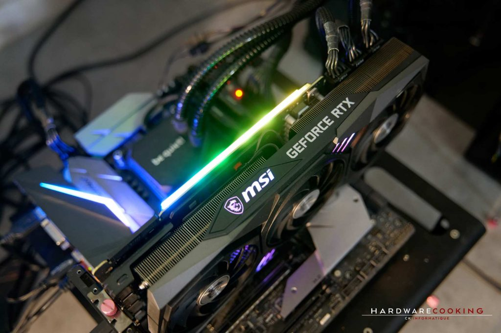 Test MSI RTX 3090 GAMING X TRIO