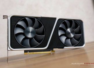 Test NVIDIA GeForce RTX 3060 Ti Founders