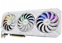 ASUS GeForce RTX 30 ROG STRIX WHITE