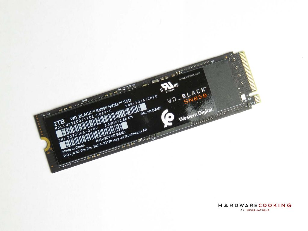 SSD WD_BLACK SN850 2 To