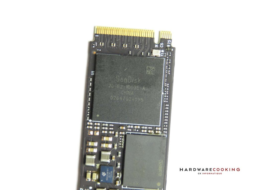 Contrôleur SanDisk WD_BLACK SN850 2 To