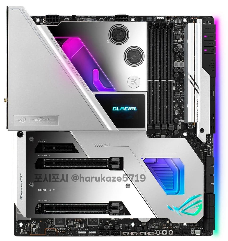 ASUS Z590 ROG MAXIMUS XIII EXTREME GLACIAL