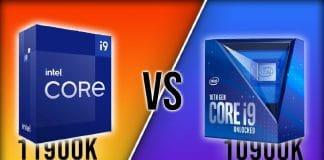 Intel i9-10900K vs i9-11900K