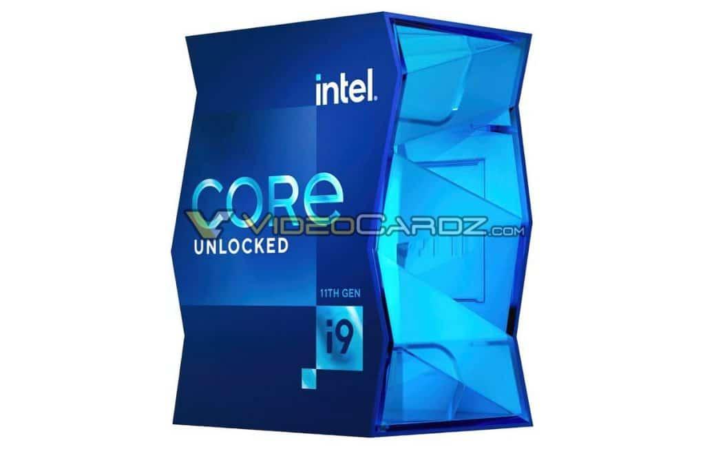 boite Intel Core i9-11900K