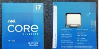 Intel Core i7 11700K Boite