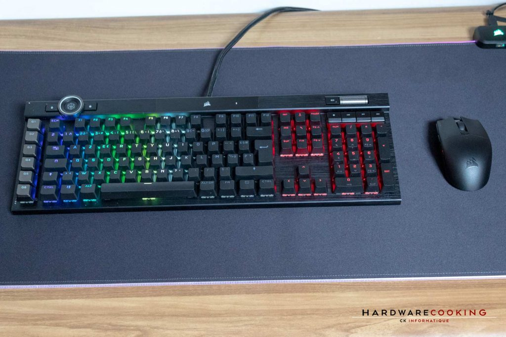test CORSAIR MM700 RGB Extended