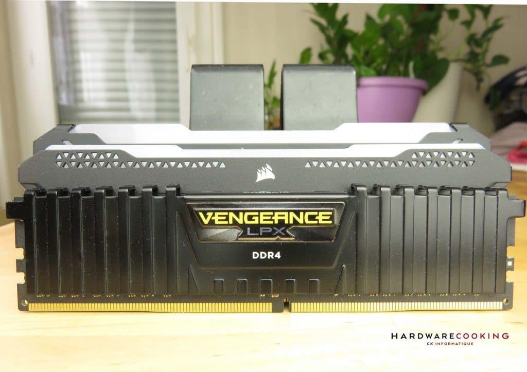 Comparatif différentes versions CORSAIR Vengeance RGB PRO SL