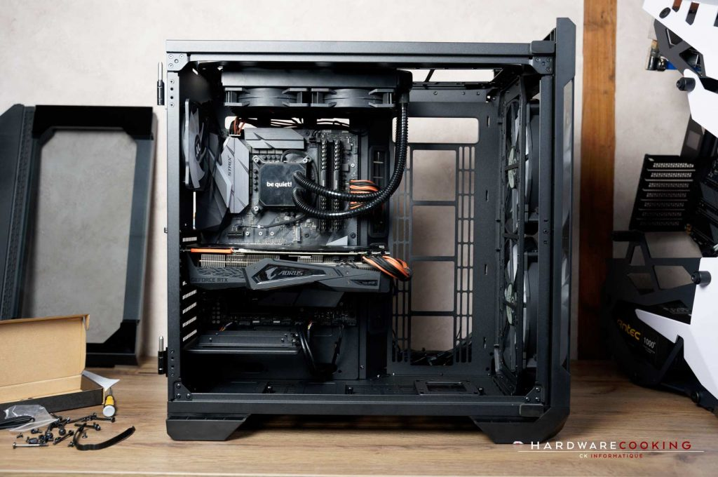 cable management Thermaltake View 51 TG ARGB