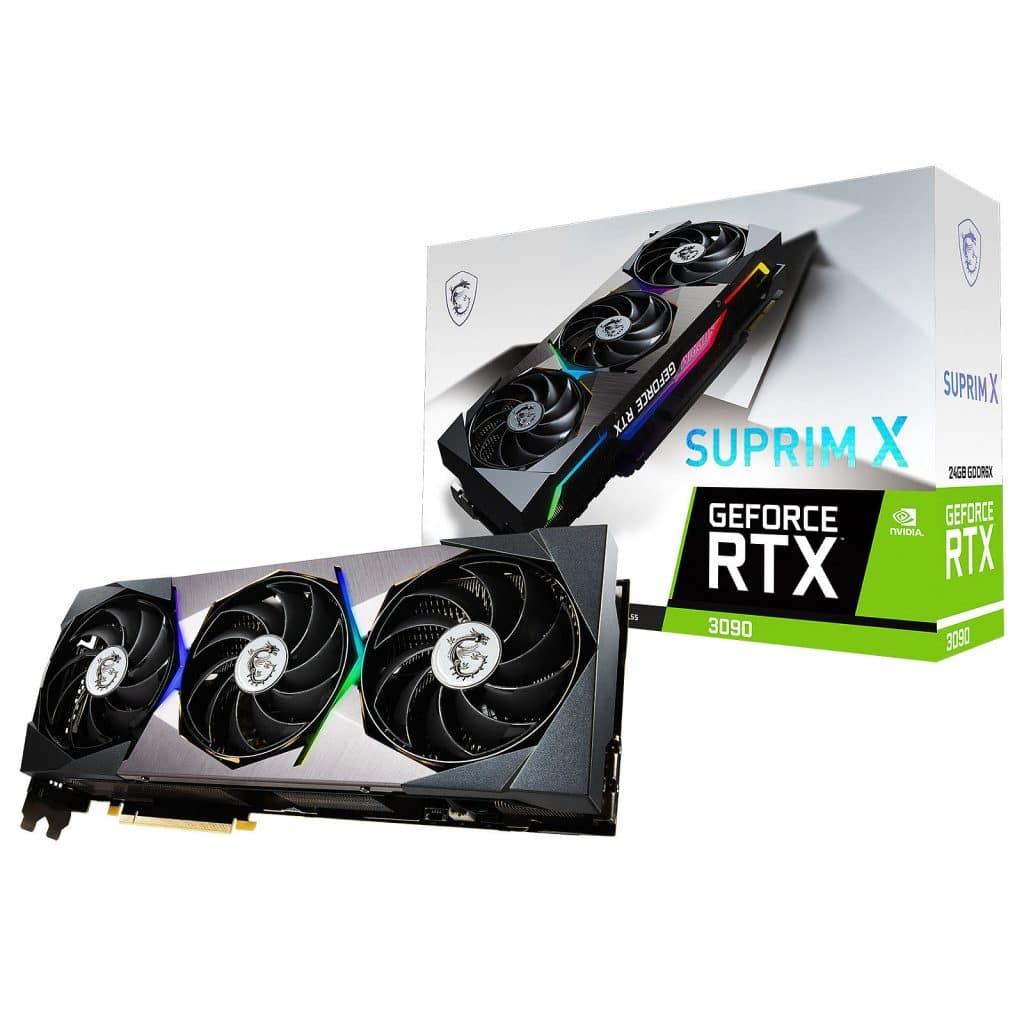 Stock MSI RTX 3090 SUP¨RIM X