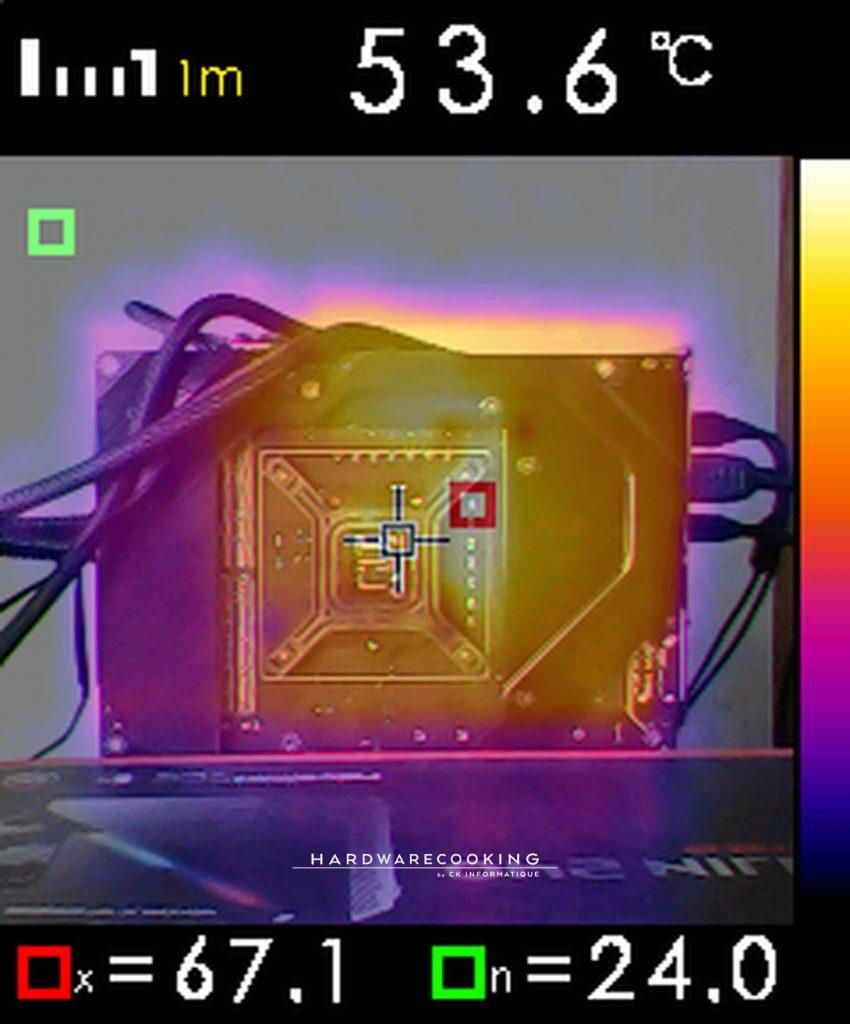 photo caméra thermique VRM MSI MEG Z590 ACE