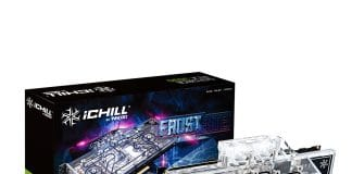 Stock INNO3D RTX 3090 ICHILL FROSTBITE