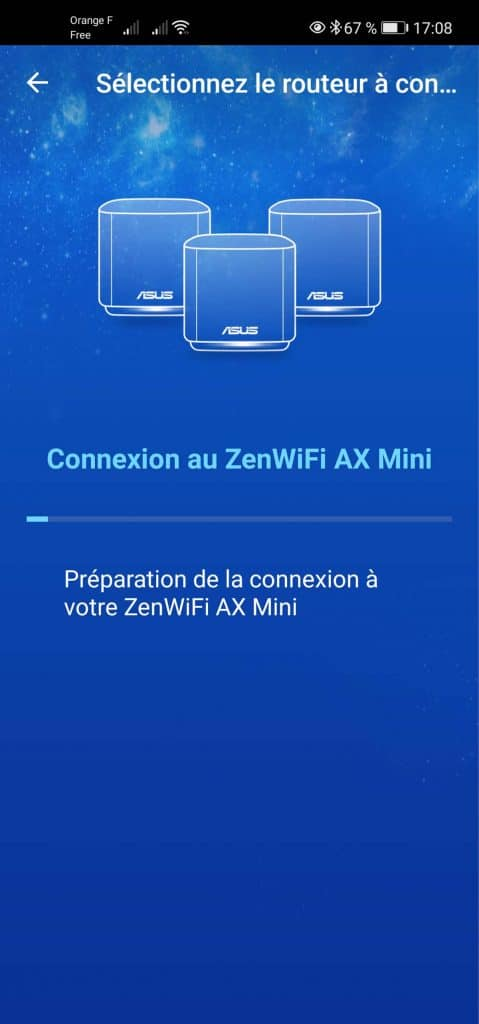 Application ASUS Router