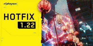 Cyberpunk 2077 Update 1.22