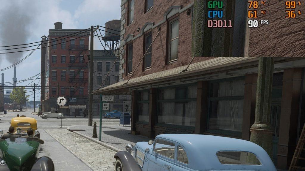 Mafia Definitive Edition FPS en jeu