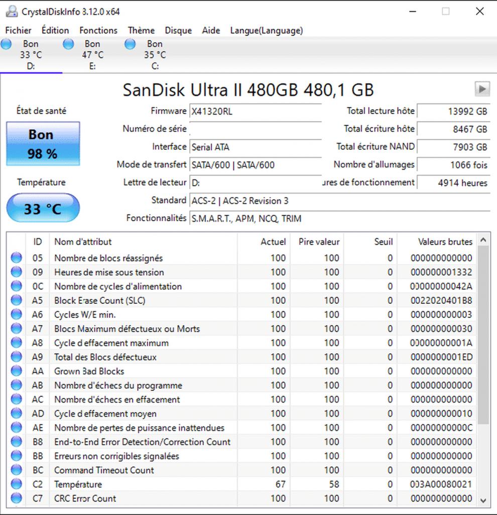 Guide : Comment savoir si mon HHD/SSD est en fin de vie ?