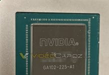 NVIDIA GeForce GPU GA102-225