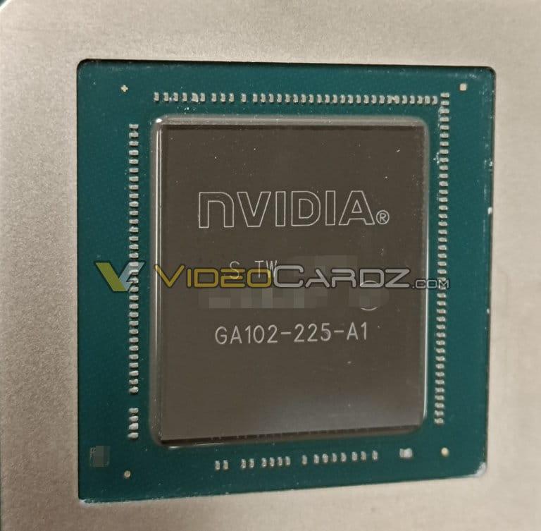 NVIDIA GeForce GPU GA102-225