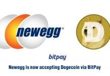Paiement en Dogecoin sur Newegg