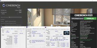 Record Cinebench R23 AMD EPYC 7763