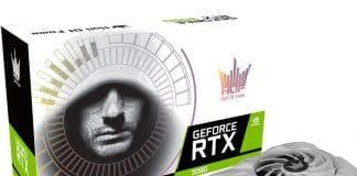 Stock KFA2 GeForce RTX 3090 HOF