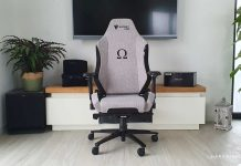 Test fauteuil Secretlab OMEGA Cookies & Cream