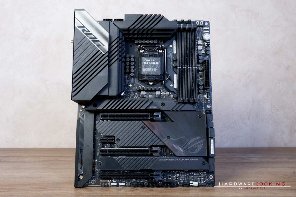 Test VRM ASUS ROG MAXIMUS XIII HERO
