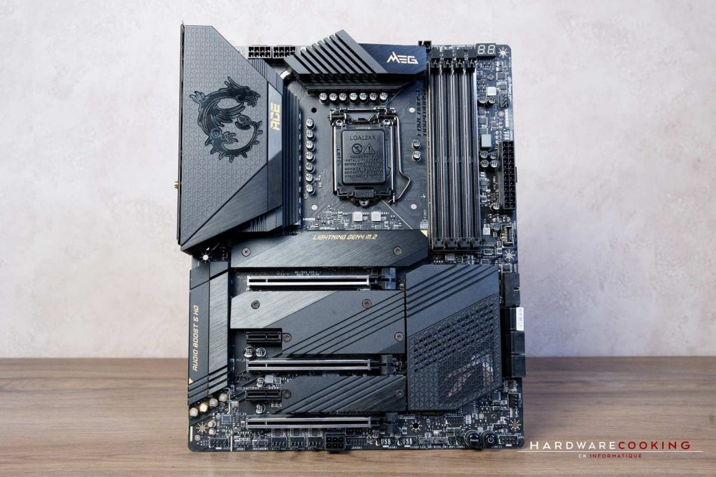 Test VRM MSI MEG Z590 ACE