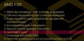 AMD FidelityFX Super Resolution FSR