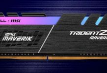 DDR4 G.Skill Trident Z Maverik