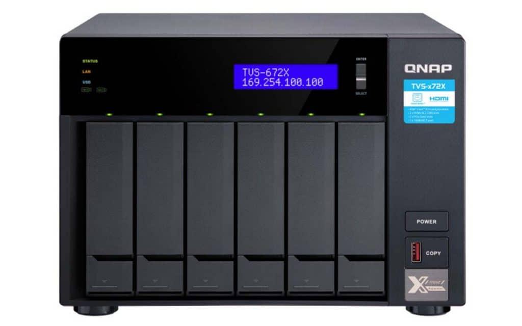 NAS QNAP TVS-672X