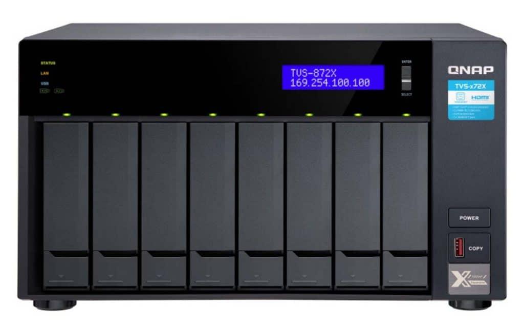 NAS QNAP TVS-872X