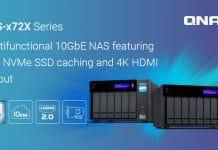 NAS QNAP TVS-x72X series