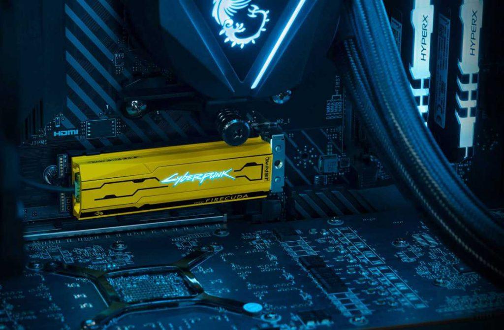 SSD Seagate FireCuda 520 Cyberpunk 2077 Edition