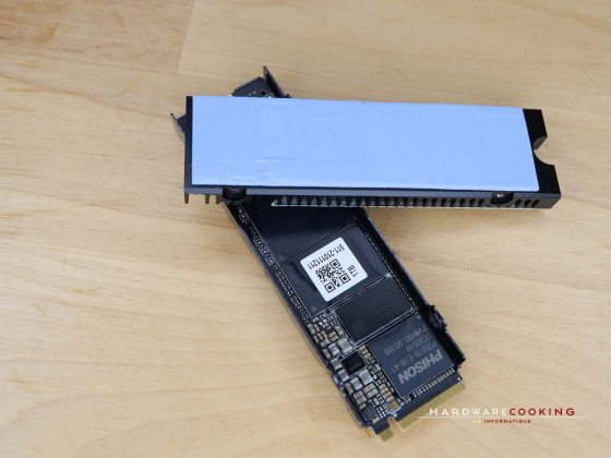 Dissipateur thermique SSD AORUS Gen4 7000s